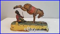 1879 Always Did'Spise A Mule Cast Iron Mechanical Coin Bank For Parts or Repair
