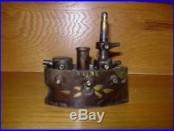 1897-1903 Small Maine Battleship Cast Iron Bank By Grey Iron Casting Nice
