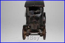 1920's Arcade Cast Iron Model T Ford Bank, Original