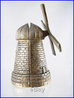 1920s cast iron Dutch windmill still bank BEAUTIFUL CONDITION