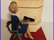 1963 Mary Roebling Trenton Trust Cast Iron Mechanical Bank #200 of 200