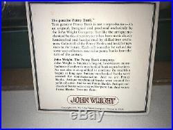 1975 Cast Iron Billie Jean King vs Bobby Riggs Mechanical Bank Rare