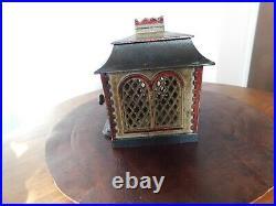 19th Century Antique cast iron Home mechanical bank