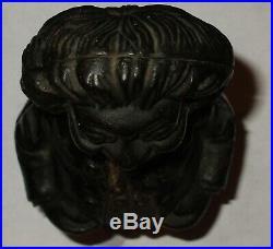 All Original Rare Antique Cast Iron Still Coin Bank Black Memorabilia