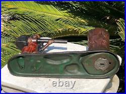 Antique 1877 CREEDMO0R BANK Cast Iron Mechanical Bank J. E. STEVENS
