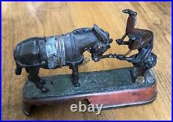 Antique 1879 J&E Stevens Always did Spise a Mule Cast Iron Mechanical Bank