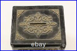 Antique 1879 Royal Safe Deposit Bank With Combination