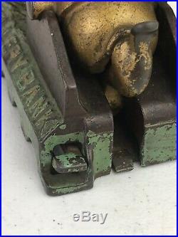 Antique Cast Iron Artillery Mechanical Bank Shepard Hardware Co. Patent 1892