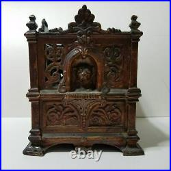 Antique Cast Iron Fidelity Trust Vault Counting House Bank Barton Smith Co