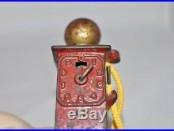 Antique Cast Iron Gas Pump Bank