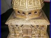 Antique Cast Iron Kenton Hardware COLUMBIA Still Bank 1893