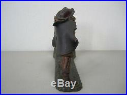 Antique Cast Iron Mechanical Coin Bank William Tell