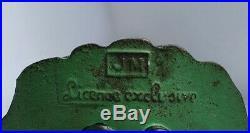 Antique Cast Iron still Bank Scarce French girl bank