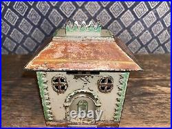 Antique, J & E Stevens Crown Still Bank, C Rated In Penny Book! VERY RARE