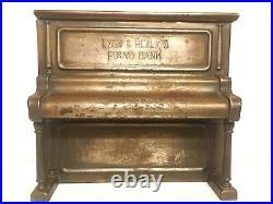Antique Lyon & Healy's Piano Bank c. 1904