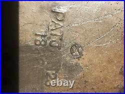 Antique Orig J E Stevens Mechanical Cast Iron Bank Eagle & Eaglets 3 Birds Work