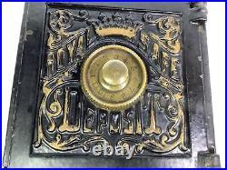 Antique Royal Safe Deposit Combination Bank 1879