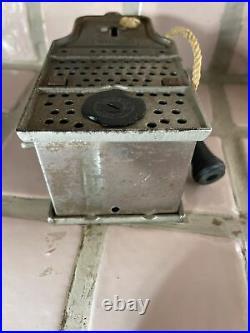 Antique Semi Mechanical Cast Iron Payphone Bank