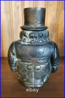 Antique Vintage Original Cast Iron Transvaal Bank Black Rare Toy