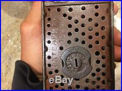 Antique je Stevens cast iron mechanical bank beauty orig