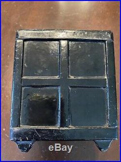 Antique/vintage Cast Iron Henry C. Hart-safe Deposit Bank