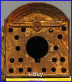BIG PRICE CUT GUARANTEED OLD ORIG 1875 HALLS LILIPUT WithTRAY MECHANICAL BANK B787