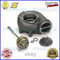 Banks For 99-03 Ford 7.3L Power Turbo Upgrade Kit Big-Head Comp Wheel 24458
