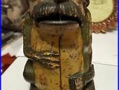 Benjamin Butler Cast Iron Greenback Frog Bank 1870