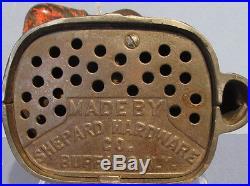 Big Price Cut Guaranteed Old Orig Jolly N Mechanical Bank Patented 1882 Bk795