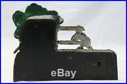 Black Boy Stealing Watermelon Cast Iron Mechanical Bank Kyser & Rex 1890's