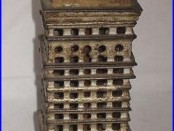 C1910-20 High Rise Bank Building Cast Iron Bank Kenton Rated B Moore #1220