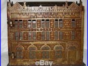 C. 1891 Jarvis Traders Bank of Canada Cast Iron Building Bank EXTREMELY RARE