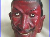 Cast Iron Devil Bank