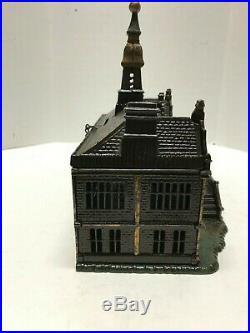 Cast Iron Ives Palace Still Bank-Antique 1885