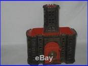 Cast Iron TOWER BANK Combo Safe Still Building Bank Kyser & Rex