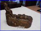 Cast Iron Worlds Fair Mechanical Bank