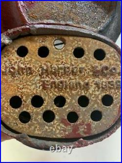 Cast iron nut cracker Mechanical Coin Bank John Harper & CO. England 1939