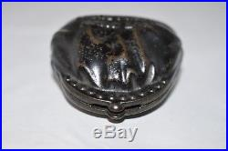 Circa 1886 Cast Iron Bank Put Money In Thy Purse Moore #1266 Scarce E Rated