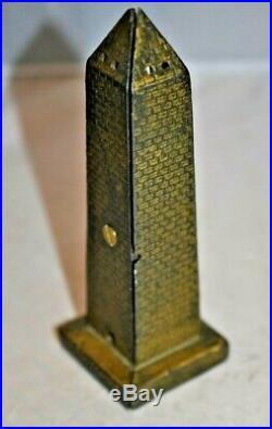 Circa 1910-12 Cast Iron Bank Washington Monument by AC Williams Moore #1048 $300