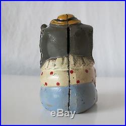 Circus Elephant Vintage Cast Iron Bank, Hubley