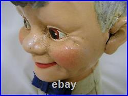 Coca Cola Sprite Boy Cast Iron Bank NIB 1999