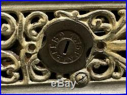 Darktown Battery J & E Stevens Cast Iron Mechanical Bank No Reserve