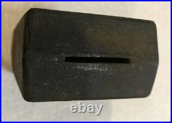 Early 1920s Cast Iron Hoover Vacuum Cast Iron Bank Rare! Only Known Example