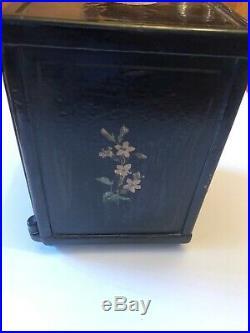 Fidelity Trust Cast Iron Safe Bank Vault Combination Henry C Hart Antique 1885