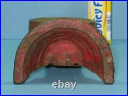 Final Price Cut1920/31 Street Clock Cast Iron & Steel Bank Orig, Old CI 682