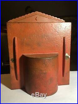 GENUINE 1894, Shepard Co. Punch And Judy Cast Iron Mechanical Bank, BEST ON EBAY