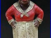 Hubley Cast Iron Mammy Bank Aunt Jemima Black Americana 1930s Arcade Kenton