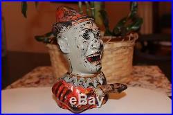 Humpty Dumpty Cast Iron Mechanical Bank Shepard Hardware