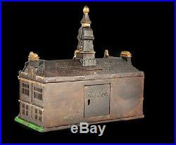 Independence Hall Cast Iron Still Bank