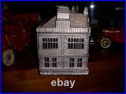Ives Blakeslee 1885 Cast Iron Palace bank, rare detailed casting Hubley Arcade